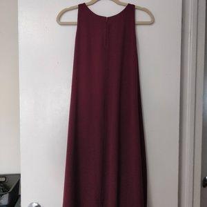 LOFT Plum Halter Dress (XL)